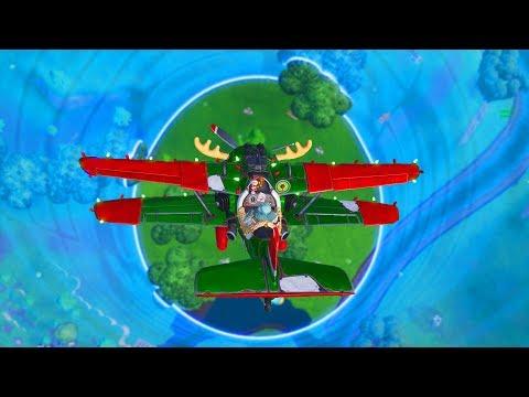 כל המשחק מותר רק מטוס!!! (פורטנייט - Fortnite)