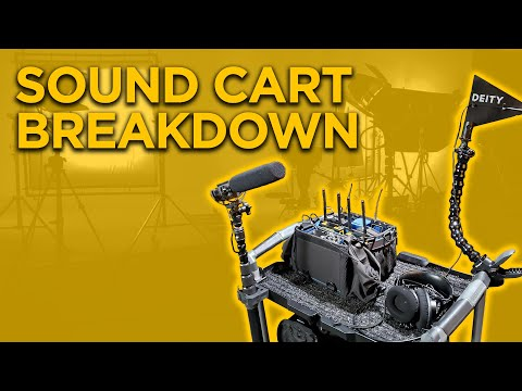 This Is What You Need On Your Sound Cart | Sound Gear For Filmmaking