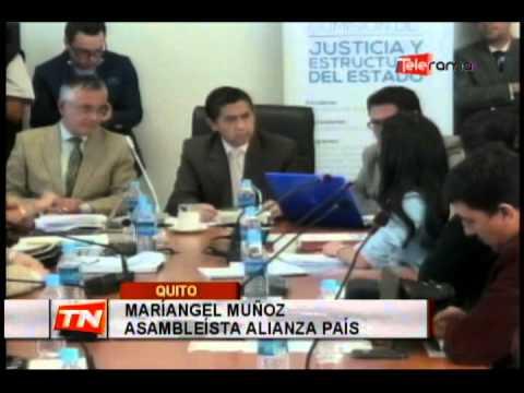 Ejecutivo presentó propuesta de reforma al COIP