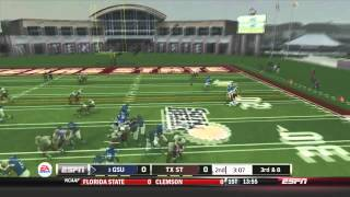 Georgia State Battles Texas State (NCAA 14 Dynasty) by iPullUp2DaHaus
