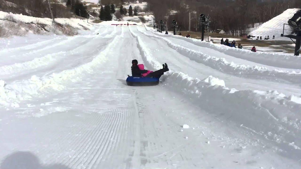 hawksnest snow tubing - youtube