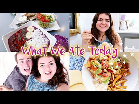 WHAT WE ATE TODAY AS A VEGAN COUPLE & Cute Breakfast Date✨
