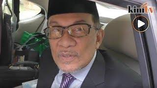 Gambar cover Kata-kata Anwar selepas bertemu Sultan Selangor