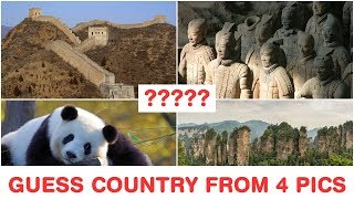 Guess the Countries from 4 Pics - Part 2 - Top Tourist Destinations & Attractions