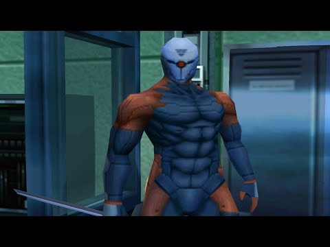 Metal Gear Solid: Cyborg Ninja (Grey Fox) Boss Fight