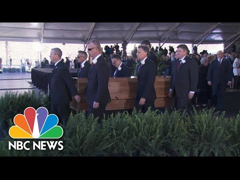 Reverend Billy Graham Is Laid To Rest | NBC News