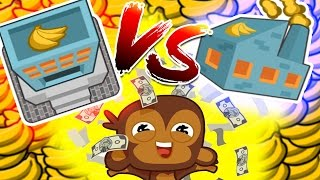 Bloons TD Battles - Banks Vs Farms | How to make the most money in Bloons TD Battles?