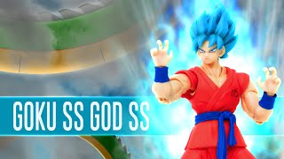 Goku SS God SS - SHFiguarts | Out of da Box