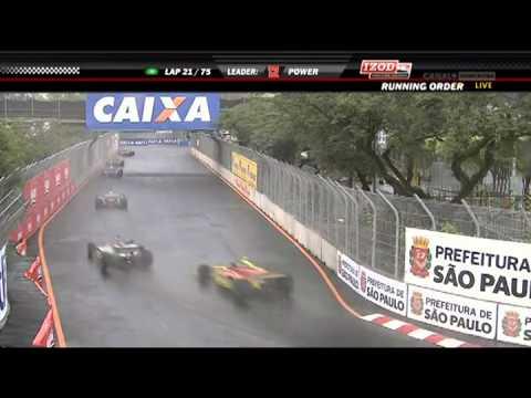 2011 IZOD INDYCAR Series Sao Paulo Indy Monday Race part 1