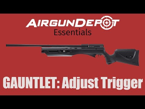 How To Adjust The Umarex Gauntlet Trigger  Travis Shows Us How