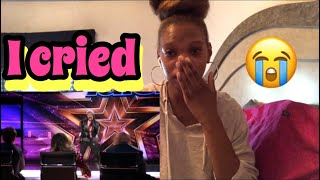✨America's Got Talent| Flau'jae 14 Year Old Rapper Earns Golden Buzzer| Emotional Reaction✨