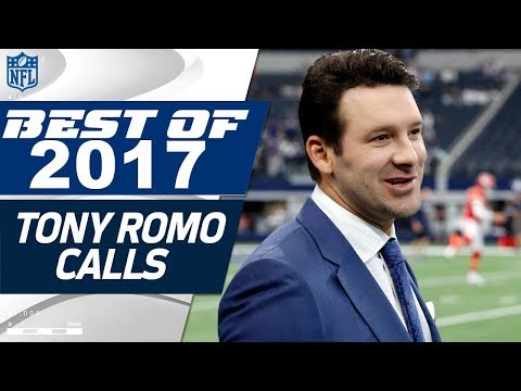 Tony Romo's Best Calls from the 2017 NFL Season | NFL Highlights