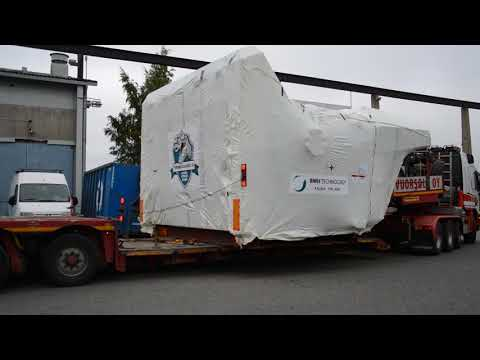 BMH Technology TYRANNOSAURUS® 9905 shredder leaving to Thailand