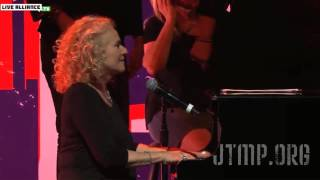 "Boston Strong - Carole King & James Taylor - ""Sweet Seasons"" - LIVE"
