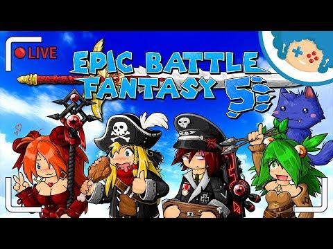 Epic Battle Fantasy 5 PL - Na Ratunek Rudej!   Zapis LIVE