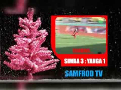 Simba Kuwazawadia Zawadi Ya Christimass Yanga SIMBA 3 - 1 YANGA @SAMFROD TV