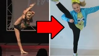 What happened to JoJo Siwa's Flexibility?
