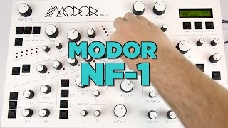 Modor NF 1 Digital Polyphonic Synthesizer Close Look