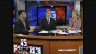Motivational humorist Avish Parashar on Fox 43