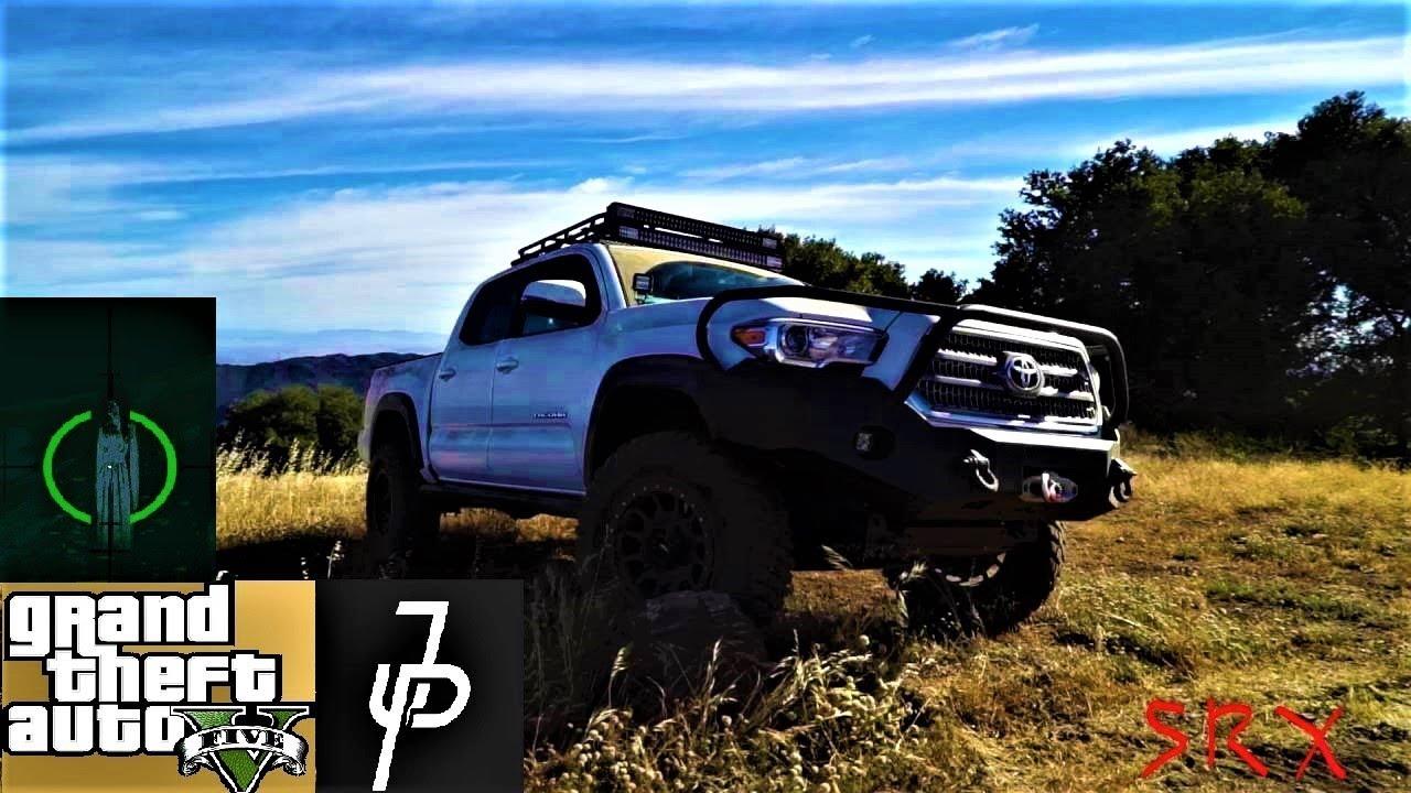 Toyota Tacoma Jake Paul >> GTA Online - Jake Paul's Toyota Tacoma Offroading - YouTube