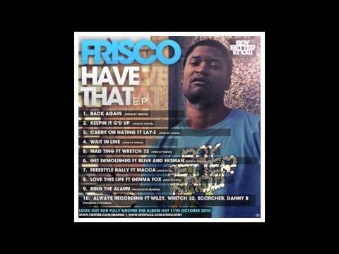 Frisco - Love this life (featuring Gemma Fox)