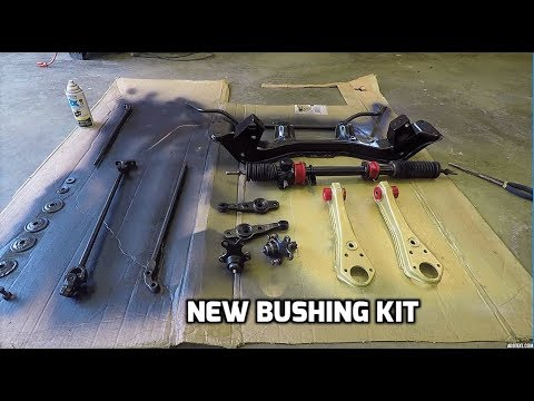 Starting in on the 280z Suspension | Tie Rods + Control Arms + More