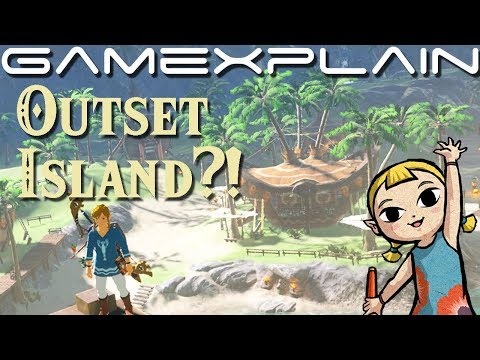 Has Outset Island Been Hiding in Zelda Breath of the Wild All This Time?! (Wind Waker Easter Egg)