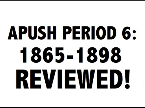 APUSH Period 6: Ultimate Guide to Period 6 APUSH