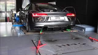 Audi R8 V10 Plus mit HMS Performance Klappenabgasanlage