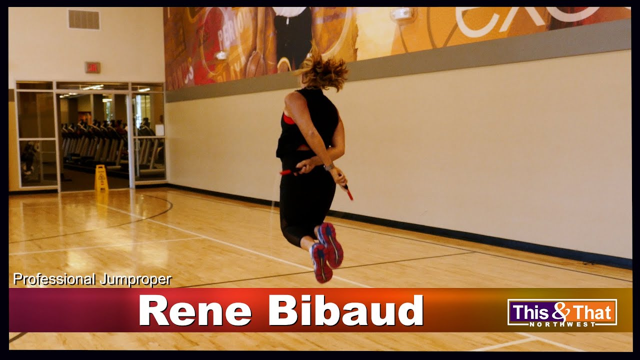 Awesome Jump Rope Skills by Professional Rene Bibaud