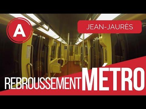 Rebroussement Métro à Jean Jaurès vue interne (Toulouse)