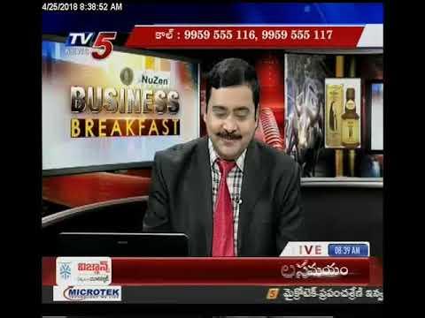 25th April 2018 TV5 News Business Breakfast
