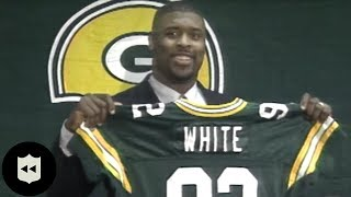 Reggie White Introduction to Packers: The NFL's Biggest Free Agent Signing EVER!