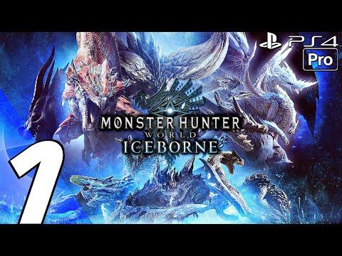Monster Hunter World Iceborne - Gameplay Walkthrough Part 1 - Beotodus \u0026 Banbaro (PS4 PRO)