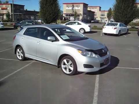 (SOLD) 2009 Silver Toyota Matrix XR AWD For Sale At Valley Toyota