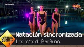Pilar Rubio sorprende con su coreografía de natación sincronizada - El Hormiguero 3.0