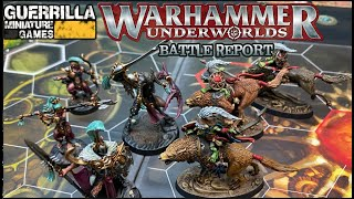 Warhammer Underworlds: DIRECHASM Match Report - Dread Pageant vs. Rippa's Snarlfangs