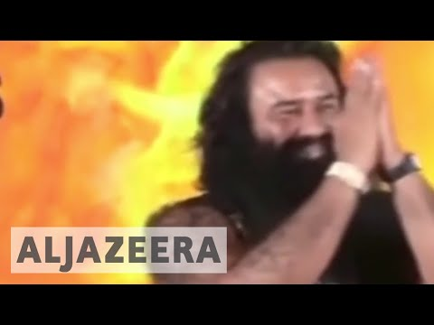 Violent protests in India after sect leader's rape conviction