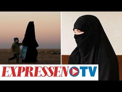 Fångade IS-kvinnorna Får Inte Täcka Ansiktet I Lägret
