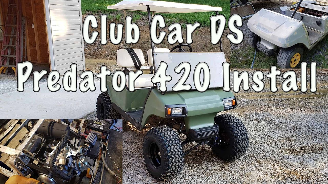 Club Car Ds Predator 420 Installation And Review Vegas Carts Kit Youtube