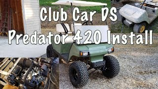 Club Car DS Predator 420 Installation and Review - Vegas Carts Kit
