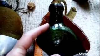 World War 1 Russian Canteens:  WW1/ WWI Canteens water bottles фляга российский