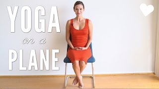 Yoga on an Airplane - Travel Yoga