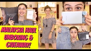 Malaysia Try On Haul + Unboxing PR Packages!!!