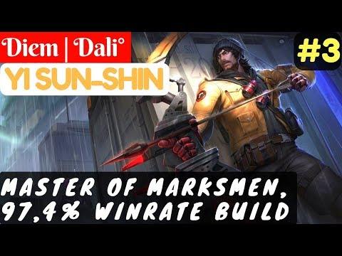 Master Of Marksmen, 97,4% Winrate Build [Rank 3 Yi Sun Shin]   Diem   Dali° Yi Sun Shin #3