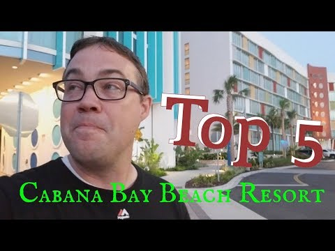 Top 5 Things We Love About Universal's Cabana Bay Beach Resort