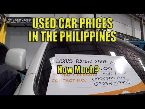 Used Car Prices. Cebu City, Philippines.