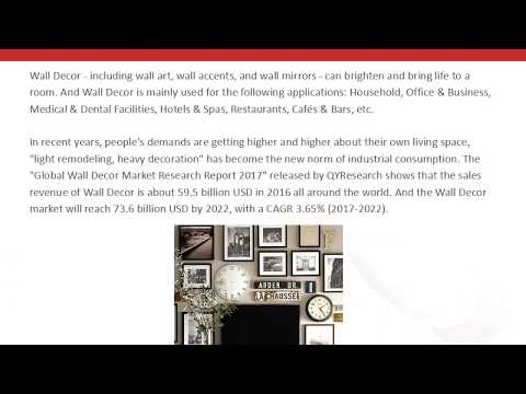 QYResearch: Global Wall Decor Market will reach 73.6 billion USD by 2022