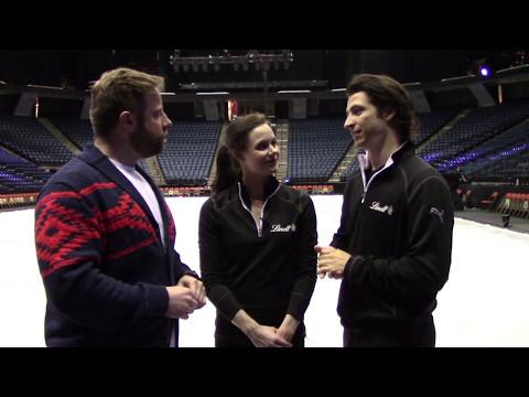 2017 Golden Skate Interview with Tessa Virtue & Scott Moir