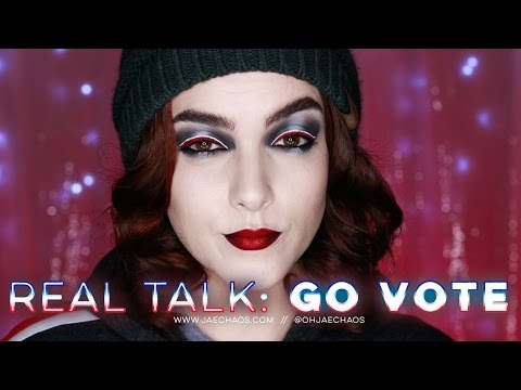 Real Talk: Go Vote!  // #Election2016  //  @ohjaechaos